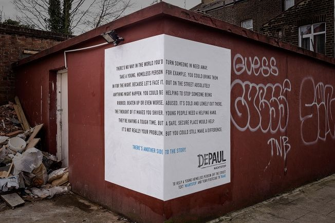 Homeless Viewpoint Ads