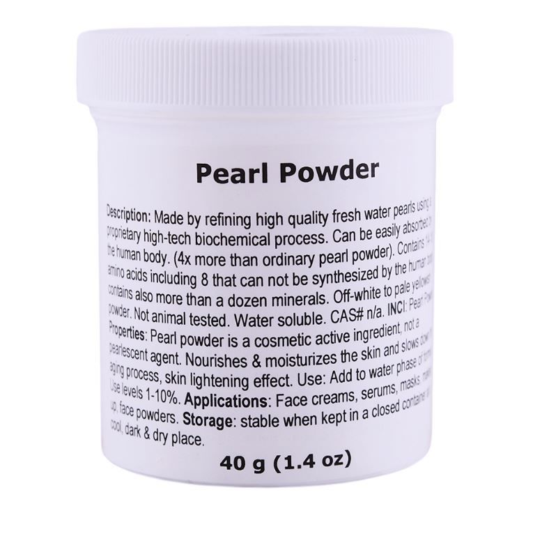 Powdered Pearl Cosmetics