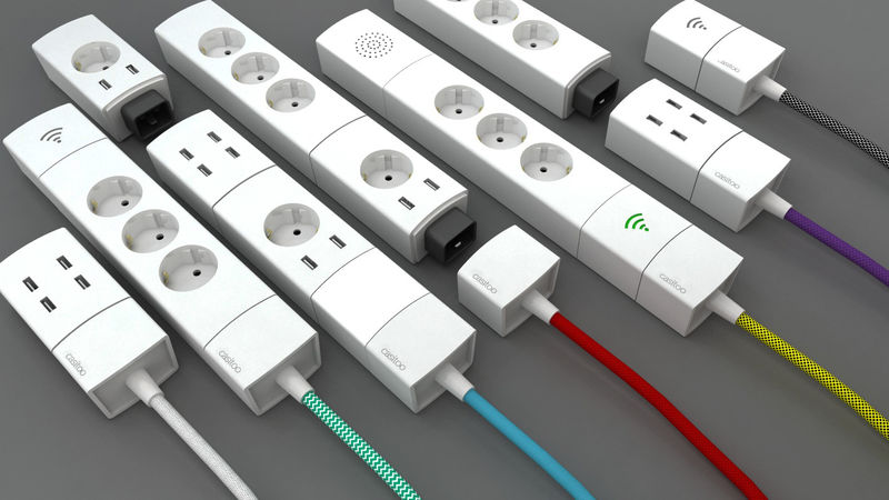 Stylish Modular Outlets Power Bar