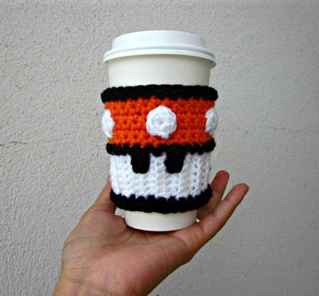 Arcade-Inspired Coffee Sleeves