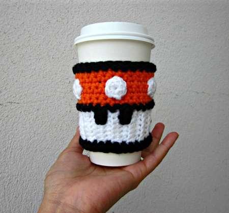 Arcade-Inspired Coffee Sleeves