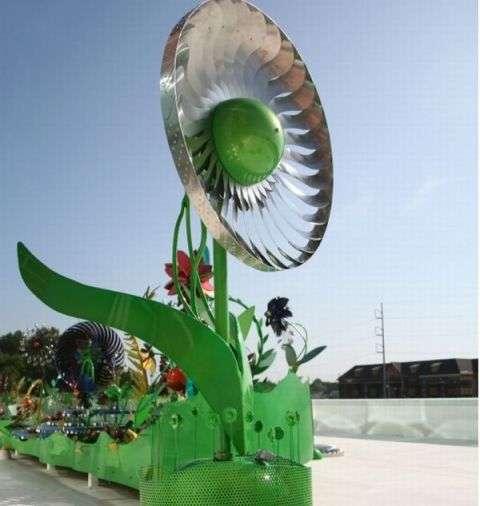 Floral Wind Turbines