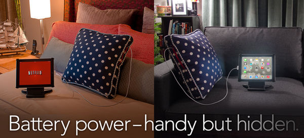 Battery-Boosting Couch Cushions