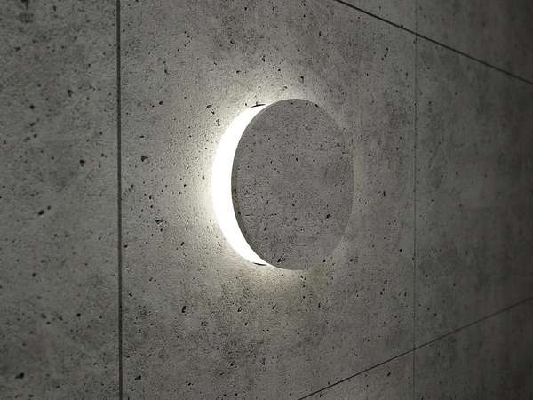Incognito Concrete Illuminators Power Switch Light By Danius