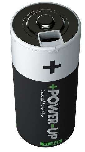 Power Up Insulated Travel Mug  
