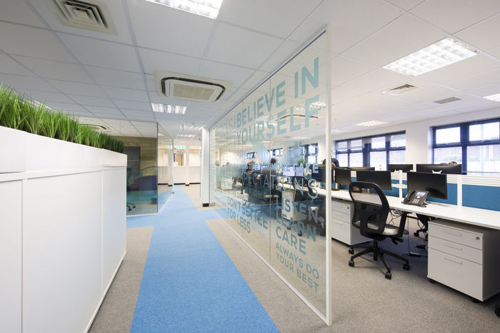 Celebratory Office Interiors