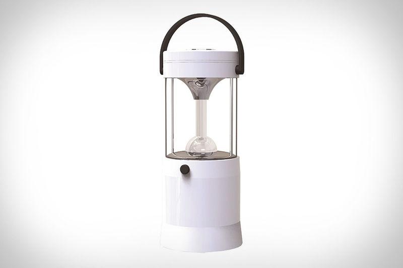 Saltwater-Powered LED Lanterns