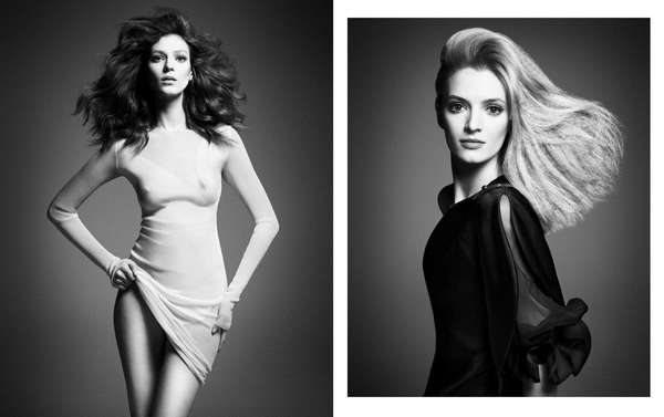 Exclusive Top Model Editorials