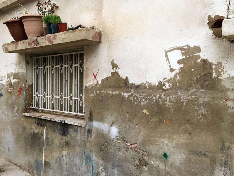 Refugee Camp Street Art