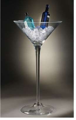 36 Inch Cocktail Glass