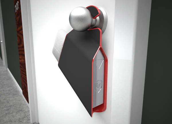 Mail-Storing Door Hangers
