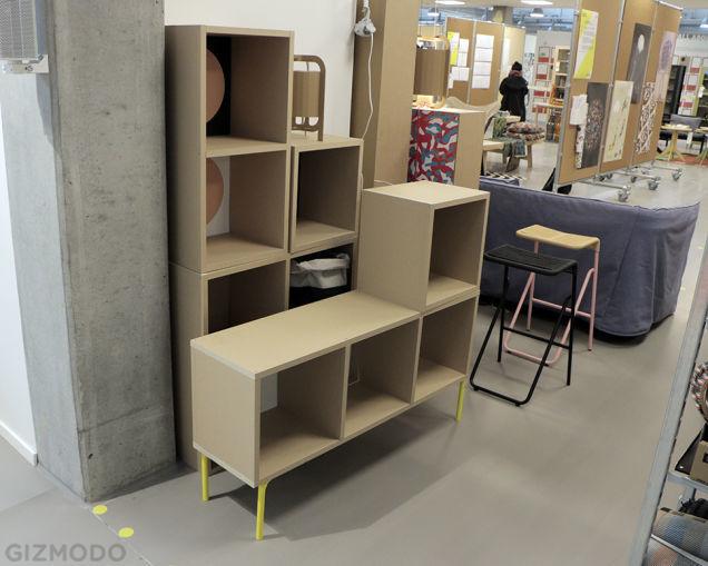 Practical Paper Furniture
