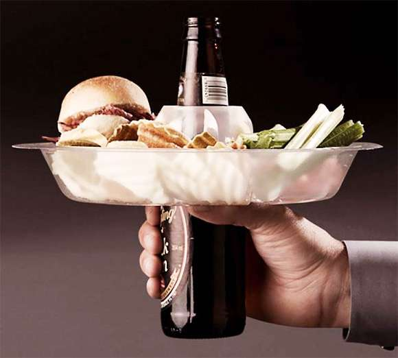 Cup-Covering Party Platters