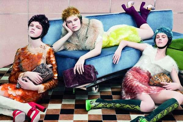 Brightly Animalistic Fashion