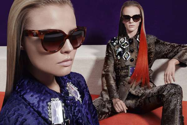 Multi-Hued Couture Campaigns