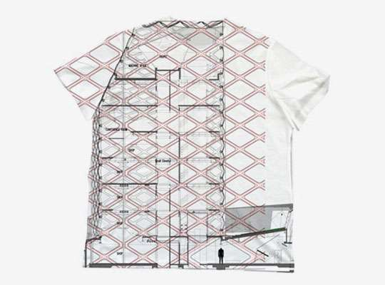 T square t shirts the prada jwp epicenter project puts for Architecture t shirts