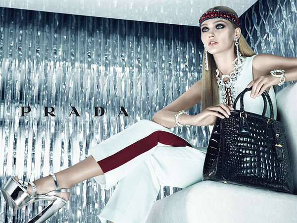 Icy Chic Fashion Ads
