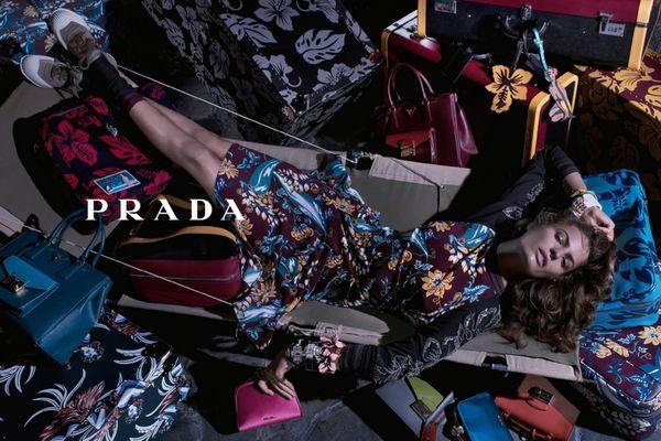 Sweatily Lounging Fashion Ads