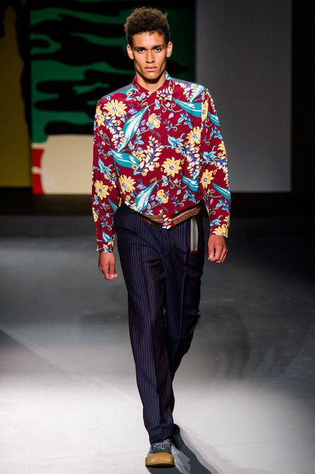 Pacific Paradise-Themed Menswear