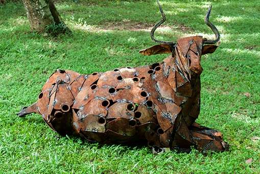 Junk Yard Critter Sculptures