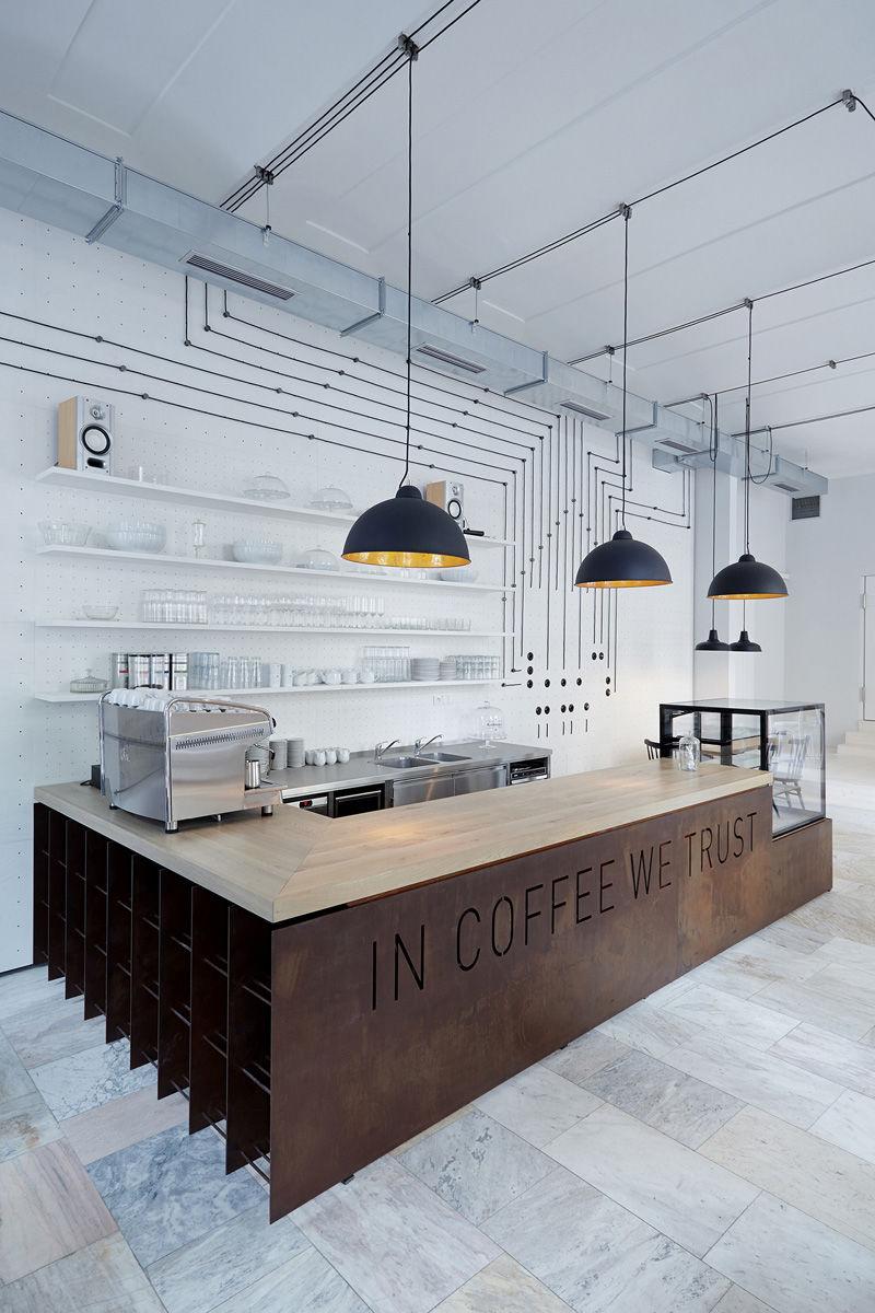 Contemporary Prague Cafes