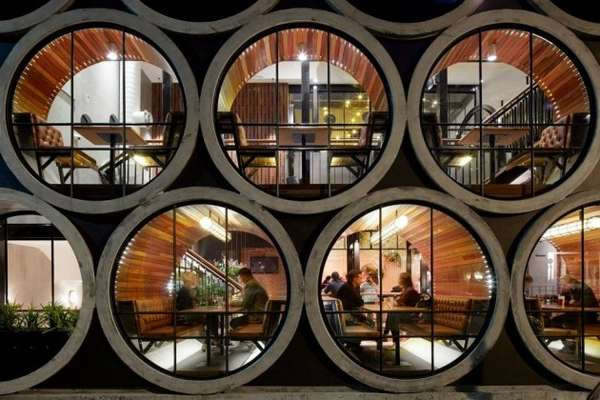 Concrete Pipe Accommodations