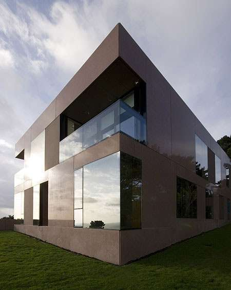Synthesized hillside homes the voluminous precast house Precast concrete residential homes