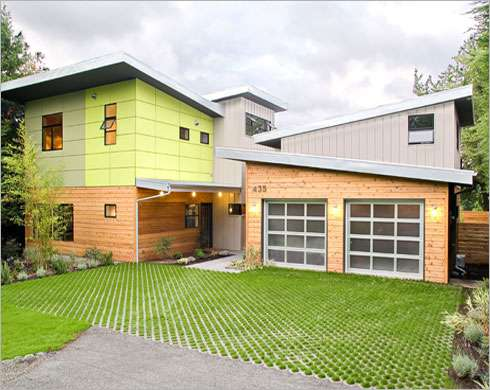 Designer prefab homes colorful place houses are ready to for Prefab homes seattle