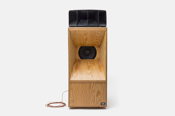 Sleek Wooden Speakers