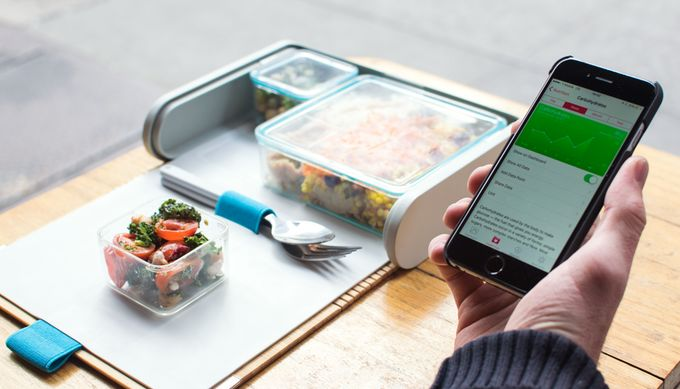 App-Connected Lunchboxes