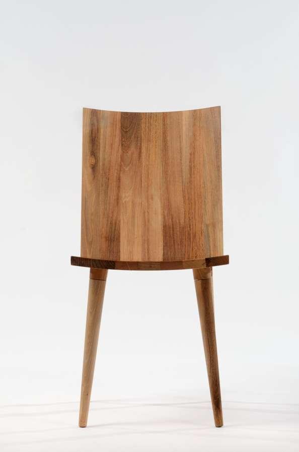 Minimalist Paneled Seating