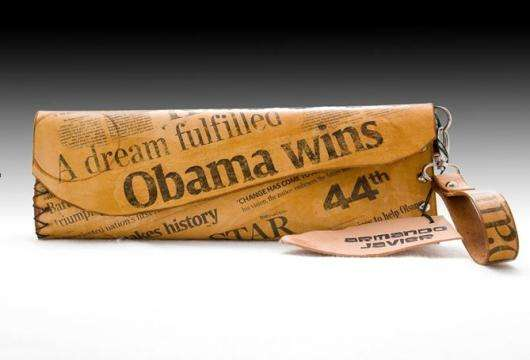 Presidential Newspaper Purses