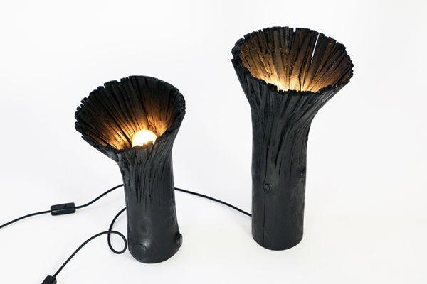 Hollowed Wood Lighting
