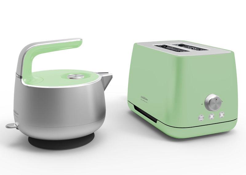 Colourful Kitchen Appliances