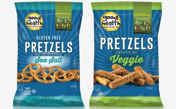 Vegetable-Infused Pretzel Snacks