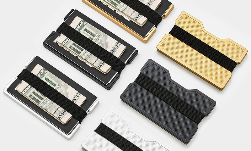 Crosshatched Money Clips