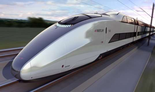 Speedy Low-Carbon Trains