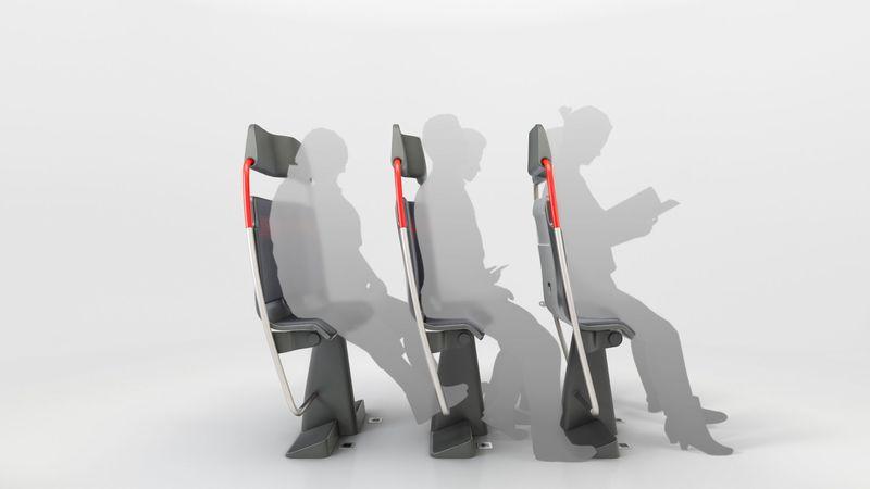 Space-Saving Train Seats