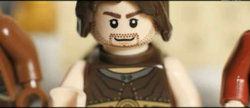 Prince of Persia Trailer Lego Reenactment