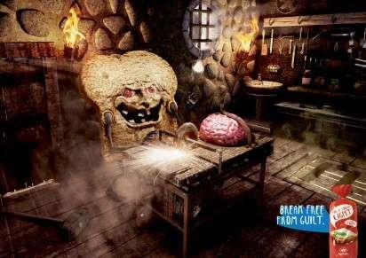 Evil Bread Ads