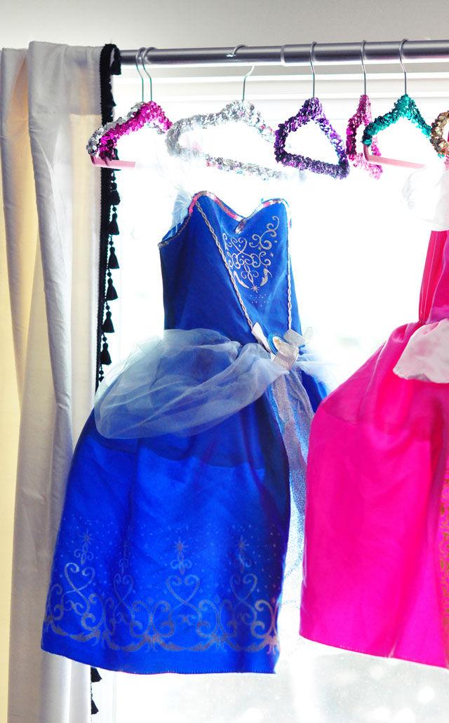 Sparkly Princess Hangers