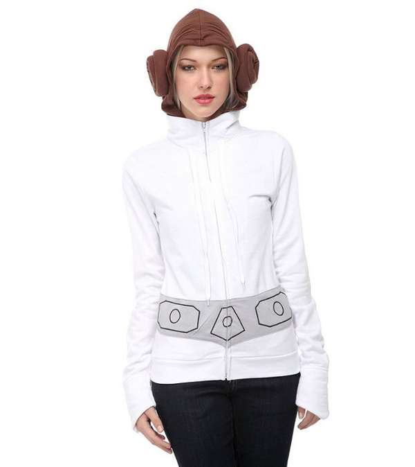 Sci-Fi Hairdo Sweatshirts