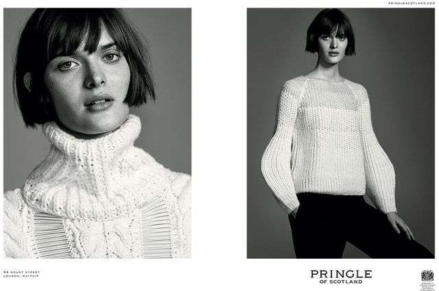 Monochromatic Thick Knit Campaigns