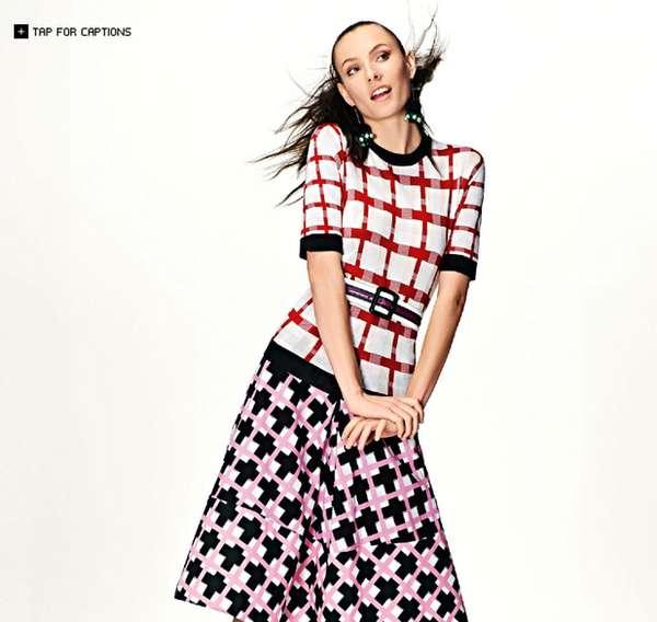 Colorful Print Mashup Fashion