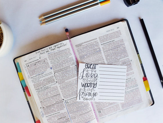 Christian Note-Taking Templates