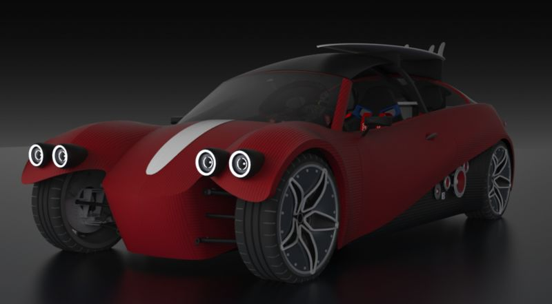 Road-Ready Printed Cars