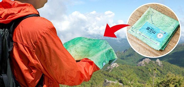 Geographic Hiking Handkerchiefs