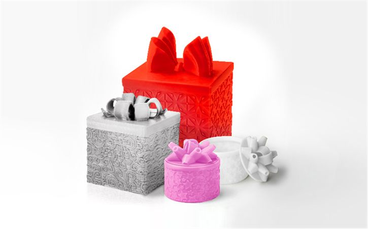 3D-Printed Gift Boxes