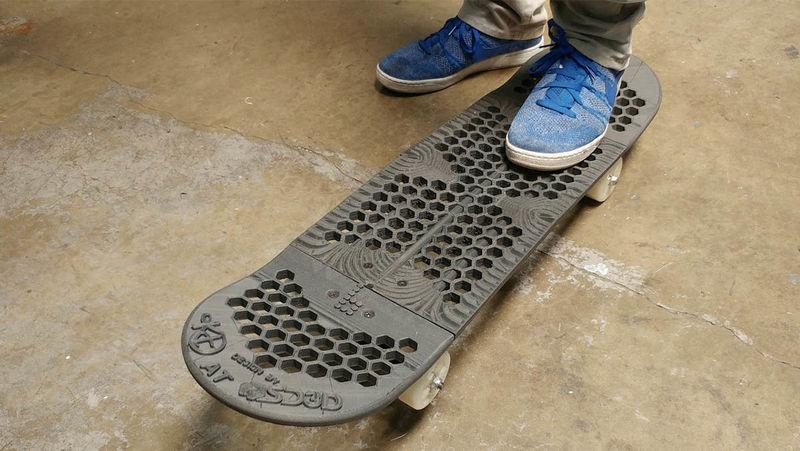 3D-Printed Skateboards