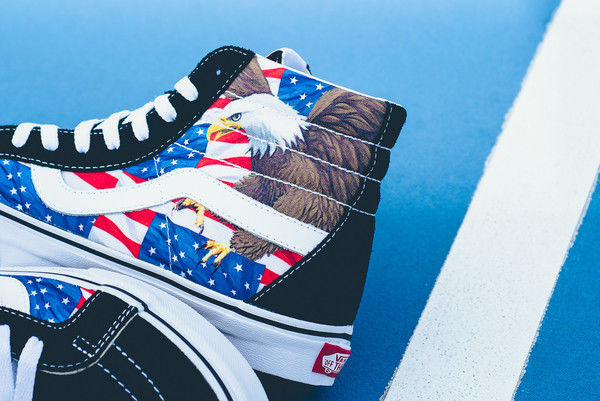 Patriotic Slip-on Sneakers